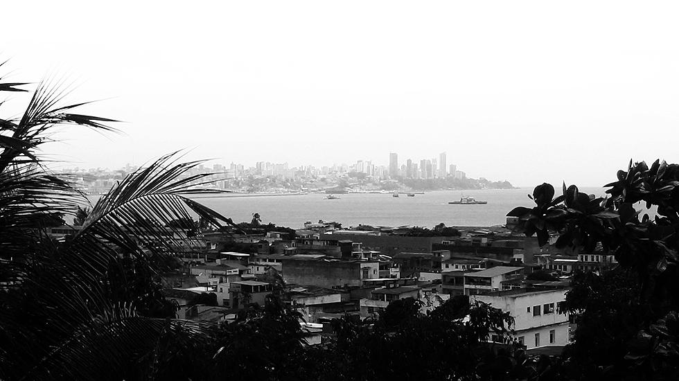Skyline da cidade visto do Bonfim