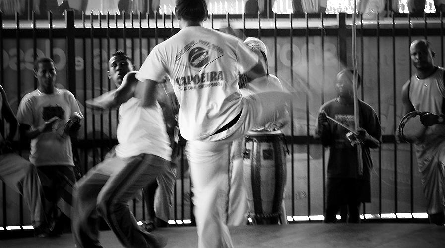 Roda de Capoeira no Mercado Modelo