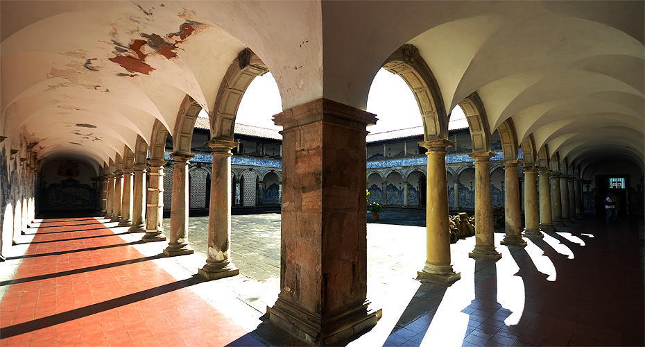 Pilares do convento