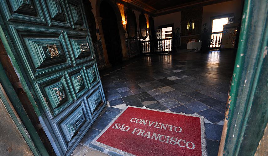 Entrada do Convento