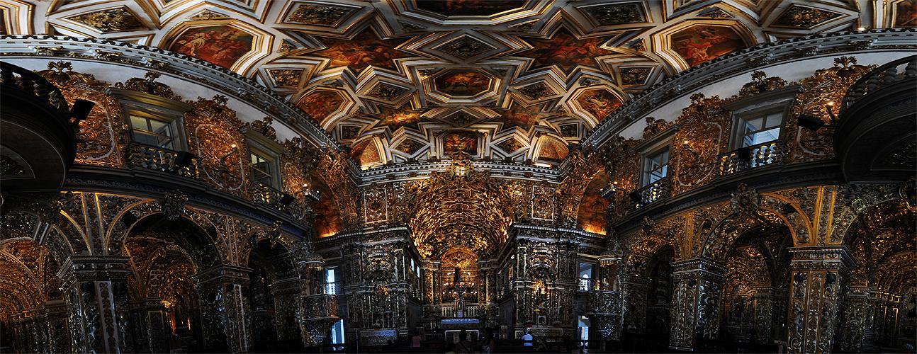 Interior da Sacristia (Montagem de Fotos)
