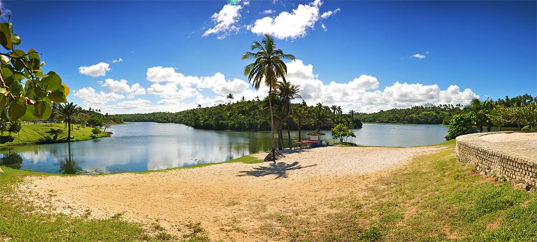 Panorâmica da Lagoa de Pituaçú